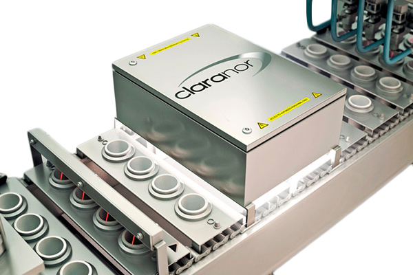 I.P.E - מערכת לחיטוי באור לבן - CLARANOR (צרפת)
